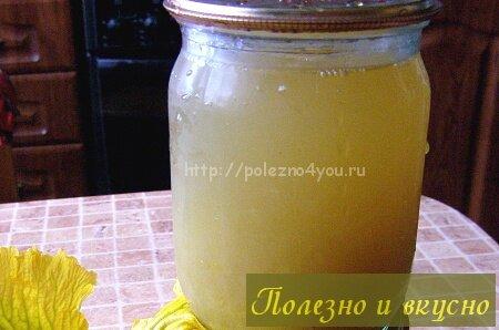 сок из тыквы без сахара с мякотью на зиму