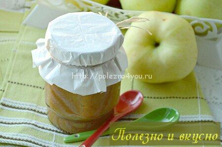 пюре из яблок на зиму без сахара