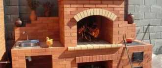 Мангал из кирпича своими руками: простой садовый или дачный проект, угловой, под казан, с плитой, в беседку, инструкция, фото, видео