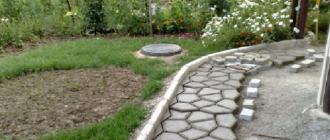Садовая дорожка своими руками при помощи формы, фото заливки и укладки на даче
