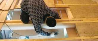 Утепление потолка в частном доме своими руками: чем лучше утеплить чердак