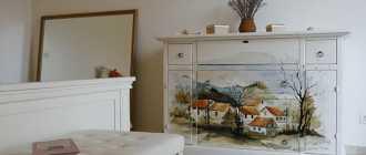 Декор комода: как своими руками декорировать старую мебель в спальне или прихожей в технике декупаж?