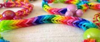 Браслеты из резинок красивые для начинающих: схемы плетения по фото и видео