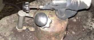 Ремонт паяльной лампы своими руками, устройство клапана и насоса старого образца