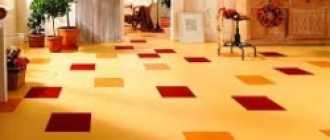 Стыки линолеума: стыковка между собой и укладка своими руками на деревянный и бетонный пол