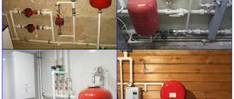 Установка расширительного бака в системе отопления закрытого типа