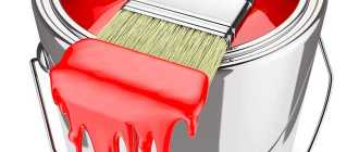 Масляная краска: применение для внутренних и наружных работ, свойства, состав и расход