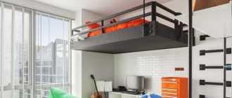 Детская кровать чердак: с рабочим местом, игровой зоной, диваном