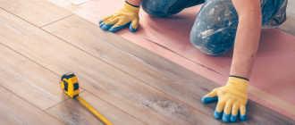 Укладка ламината своими руками пошаговая инструкция и технология сборки