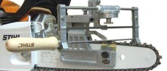 Как заточить цепь бензопилы своими руками используя напильник или станок для заточки, выбор
