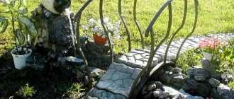 Мостики на даче своими руками – фото водоема в саду
