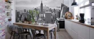 Какие выбрать обои для кухни: виды обоев, оформление интерьера