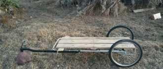 Прицеп для велосипеда своими руками: как сделать велоприцеп грузовой, для детей, для собаки