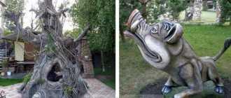 Поделки из цемента для сада: садовые фигурки из бетона своими руками