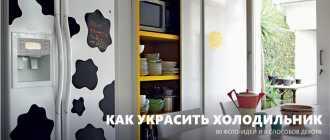 Как покрасить холодильник в домашних условиях своими руками, как его декорировать и чем украсить?