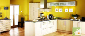 Покраска стен на кухне: краска, подготовка, фото-идеи