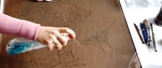Как покрасить стекло краской своими руками и сделать витраж, чтобы не смывалось?