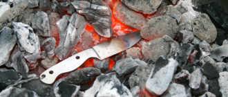 Как закалить нож в домашних условиях правильно, чем обработать лезвие?