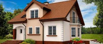Фото домов из кирпича: одноэтажных, двухэтажных, с мансардой, террасой, гаражом (55 фото)