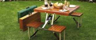 Складной столик своими рукам из дерева: чертежи и размеры трансформера для дачи и пикника