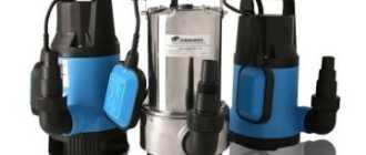 Дренажный насос для грязной воды: как выбрать или сделать для выгребной ямы своими руками