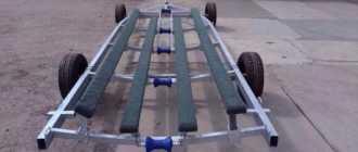 Тележка для лодки своими руками: фото, чертежи и размеры для перевозки ПВХ и надувной модели