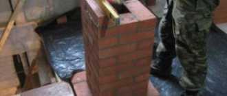 Дымоход из кирпича своими руками, кладка трубы для котла или печи