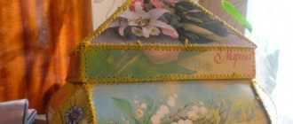 Шкатулка из открыток своими руками: схемы, выкройки и пошаговые мастер-классы