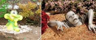 Садовые фигуры из гипса своими руками – мастер класс поделок для сада и огорода