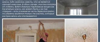 Как снять побелку с потолка своими руками быстро и без лишней грязи